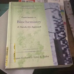 Experiments in Biochemistry - A Hands-On Approach